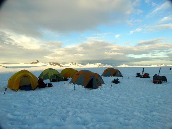 Our Northwest Branch campsite