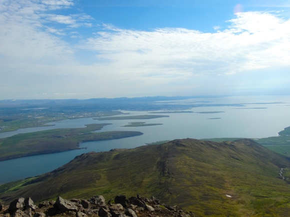 View over Reykjavik bay