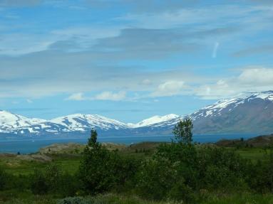 Mountains near Akureyri