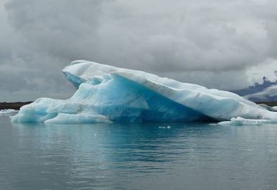 Portrait of an iceberg