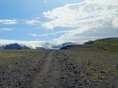 Ascending the plateau